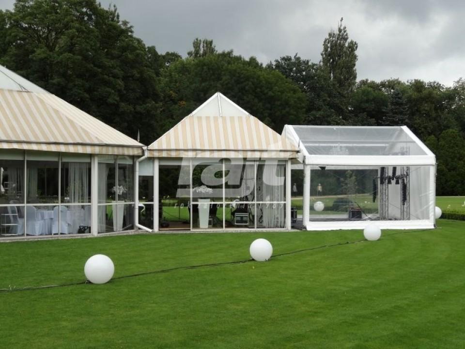 Impreza plenerowa - wykorzystanie hali namiotowej RAJT 5m