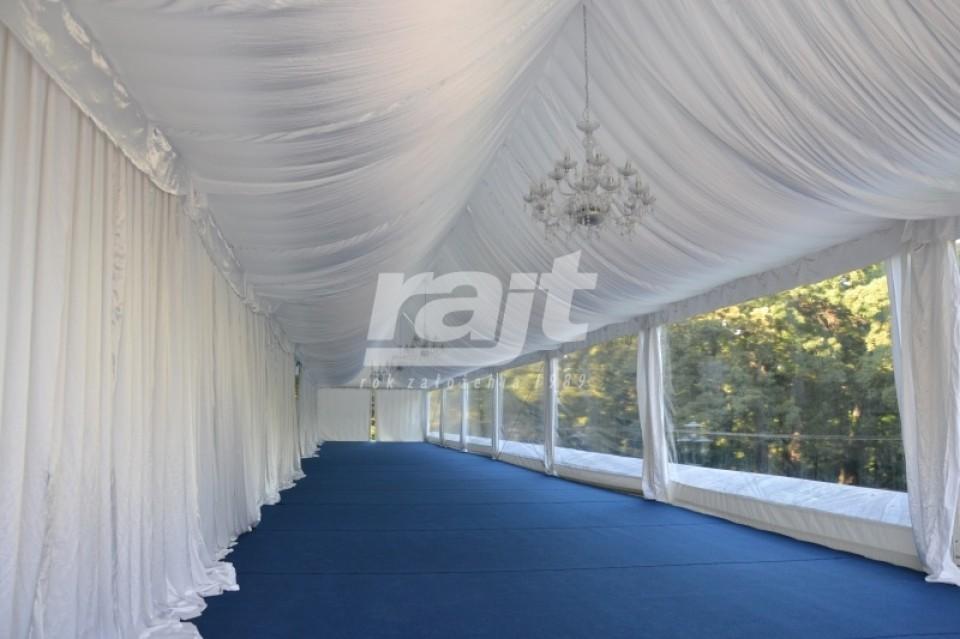 Przygotowania hali RAJT 5m do bankietu