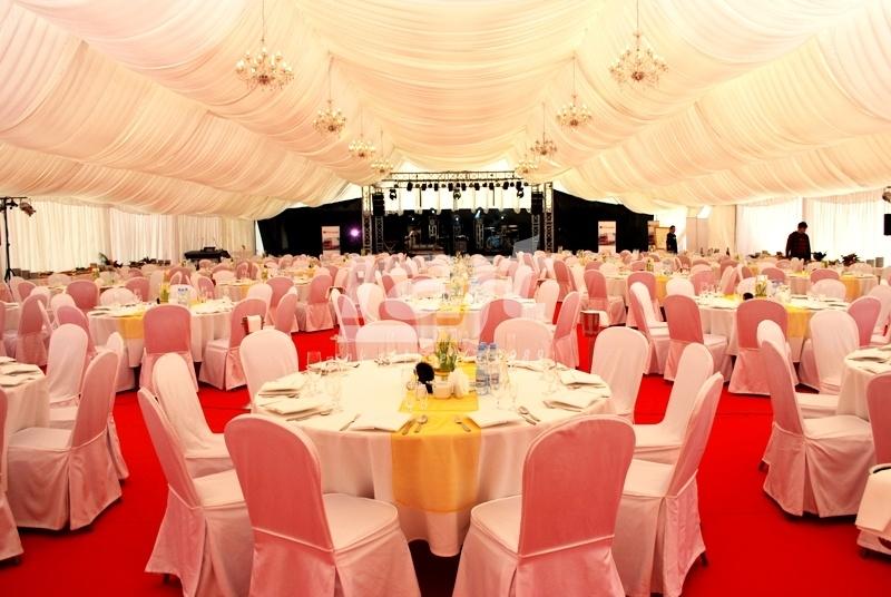 Uroczysta gala w dużej hali TYP 20 m