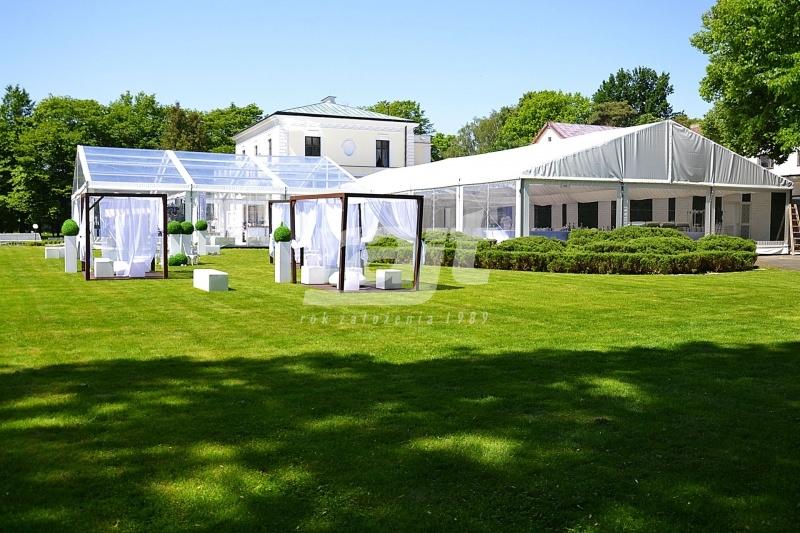 Hala namiotowa oraz namioty RAJT na wesele.